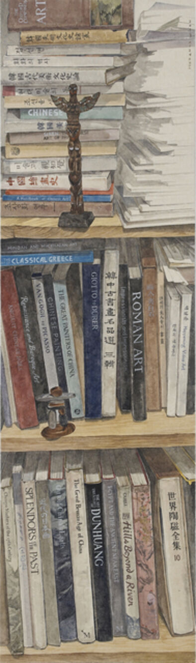 Lee Jung Eun (b. 1971), 'Pile of books I', 2013