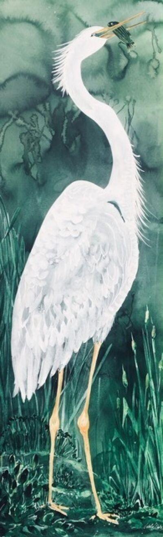 Idoline Duke, 'Heron Fishing', 2020