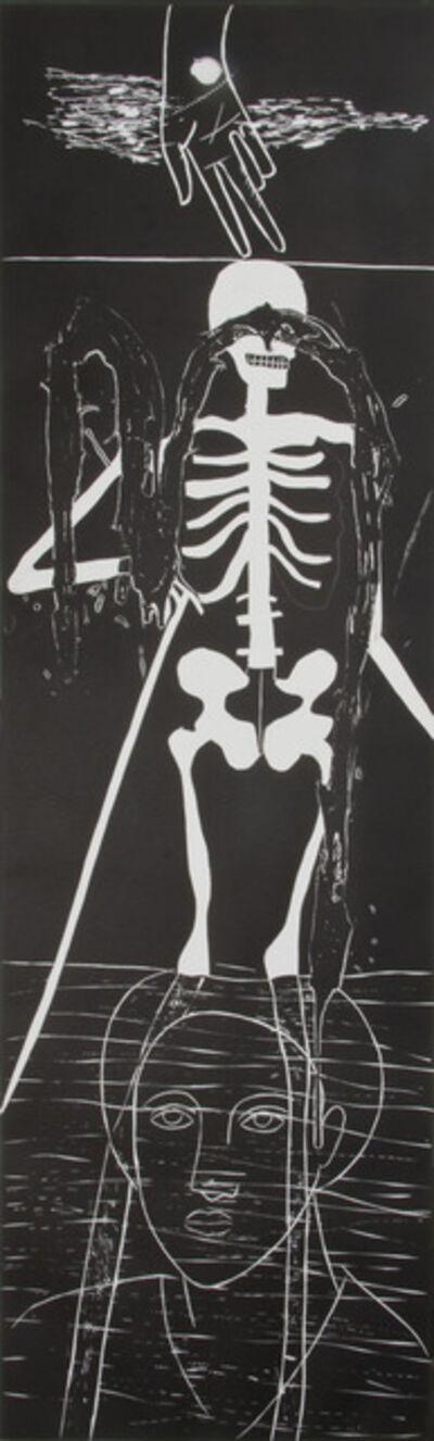 Mimmo Paladino, 'Atlantico VI (Skeleton)', 1987