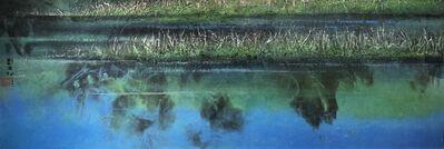 Liu Kuo-sung 刘国松, 'Dream Shadows of Changhai - Jiuzhaigou Valley Series, No.9 長海夢影:九寨溝系列之九 ', 2001