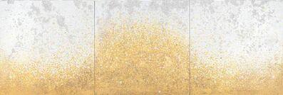 Yasmina Alaoui, 'Gold & White Trio', 2016
