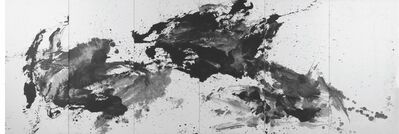 Huang Rui 黄锐, 'Black and White Chinese Landscape Painting', 1987