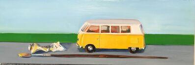 Marie Kirk Burke, 'Yellow Painted Bus ', 2016
