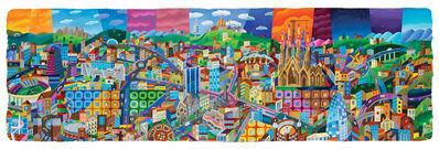 Philip Stanton, 'Barcelona Skyline', 2019
