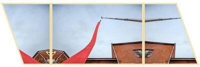 Fyodor Pavlov-Andreevich, 'Temporary Monument #7: Pairado (Suspended in the air)', 2016