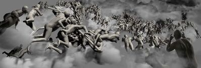 Miao Xiaochun 缪晓春, 'The Last Judgement, The Vertical View', 2006