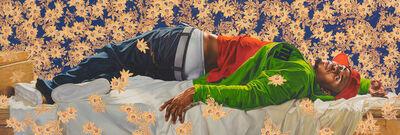 Kehinde Wiley, 'Femme piquée par un serpent', 2008