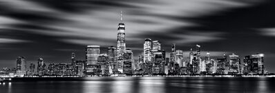 Andrew Prokos, 'Lower Manhattan and World Trade Center at Night - Long-Exposure', 2020