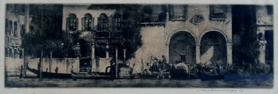 Mortimer Menpes, 'Long Venice', ca. 1910
