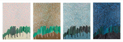 Siah Armajani, 'Dawn, Noon, Dusk and Night', 2010