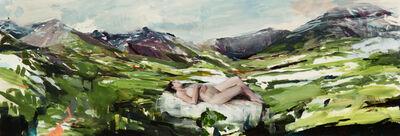 Alex Kanevsky, 'Midori in the Mountains', 2019