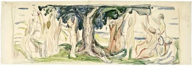 Edvard Munch, 'The Tree of Life', 1910