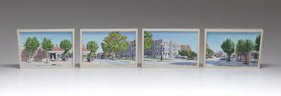 Lloyd Brown, 'Downtown by the Courthouse, Union, Missouri, U.S. Highway 50', 2019