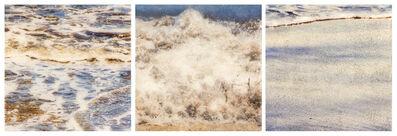 Susan Goldsmith, 'Three Beach Notes (Triptych)', 2018