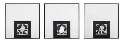 Rasheed Araeen, 'Art History, Brilliant White, and Crossed', 1979