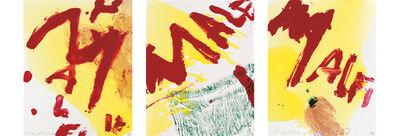 Julian Schnabel, 'Malfi', 1998