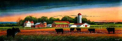 William Dunlap, 'Bull Barn – Feed Lot   ', 2009