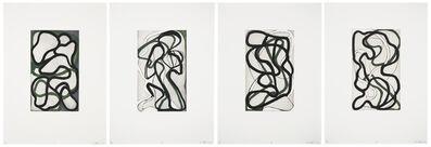 Brice Marden, 'Suzhou I-IV', 1996-1998