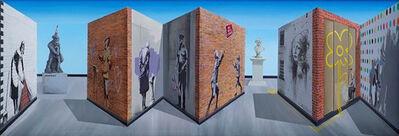 Patrick Hughes, 'The Banksy of England', 2020