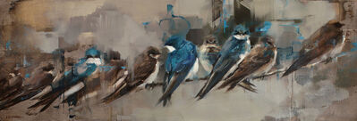 Lindsey Kustusch, 'A Flight of Swallows ', ca. 2019