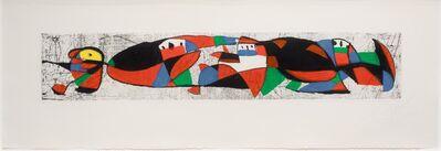 Joan Miró, 'Les Troglodytes I', 1978