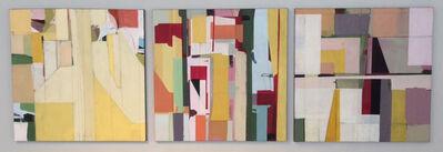 Jimmie James, 'trio (triptych)', 2017