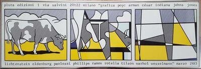 Roy Lichtenstein, 'Grafica Pop (Cow Going Abstract)', 1985