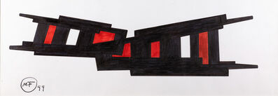"""María Freire, '""""Biombo teclado""""', 1999"""