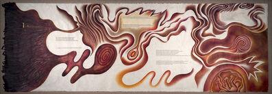 Judy Chicago, 'Creation Scroll III', 1981-1983