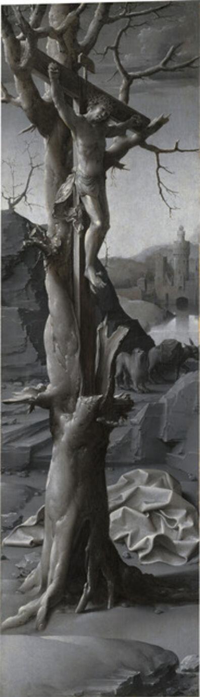 Jan Gossaert, 'Saint Jerome Penitent [left panel]', ca. 1509/1512