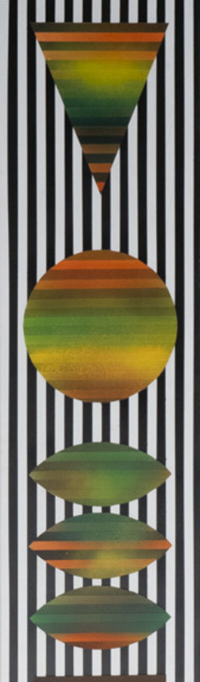 Rico Gatson, 'Panel Painting #25', 2018