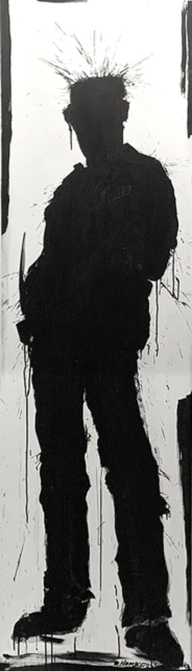 Richard Hambleton, 'Untitled (Standing Shadowman)', 2013