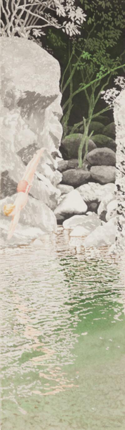 Ben Norris, 'Dive (Chinese Landscape VIII)', 1985