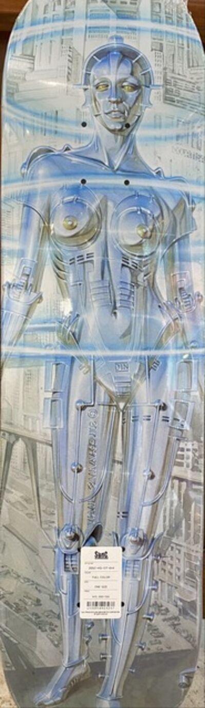Hajime Sorayama, 'Robot Skateboard', 2020
