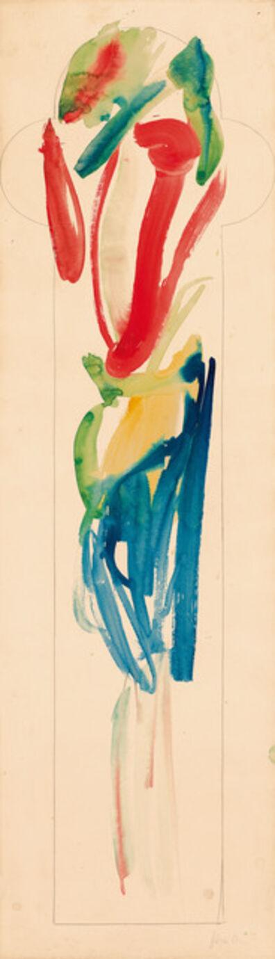 Wolfgang Hollegha, 'untitled', 1958
