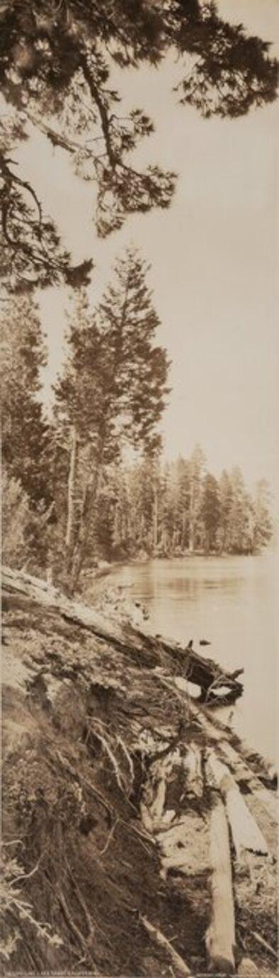 Arthur Clarence Pillsbury, 'Shore Line, Lake Tahoe, California and Bridalveil Fall, Yosemite, California (two works)', 1906 and 1907
