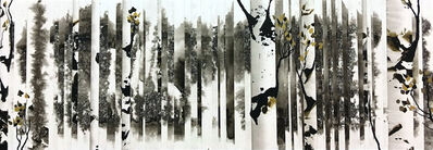 Anastasia Kimmett, 'Dreamscape with Aspens and Gold'