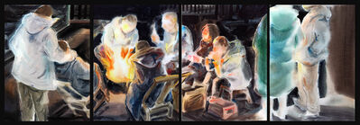 Bao Lei (包蕾), 'Getting Warm (Quadriptych)', 2020