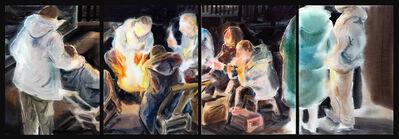 Bao Lei (包蕾), 'Getting Warm (Quadriptych)', 2020