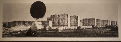 Július Koller, 'Ping-Pong Monument (U.F.O.), Project', 1971