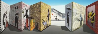 "Patrick Hughes, '""Banksy"" 3D Multiple', 2018"