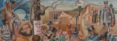 Aaron Bohrod, 'Mural Study for Vandalia Illinois Post Office', 1934