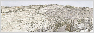 Philip Pearlstein, 'Jerusalem, Kidron Valley', 1989