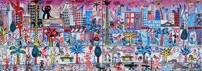 M.S. BASTIAN & ISABELLE L., 'Comixxx-City', 2009, 2012, 2015