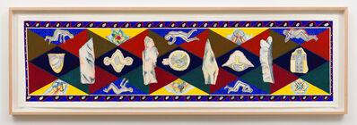 Faith Wilding, 'Stone Scroll', 1987
