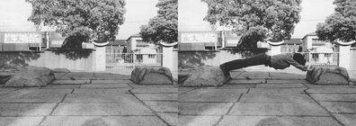 Keiji Uematsu, 'Stone/Man I', 1973