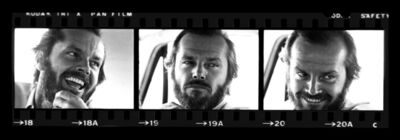 Harry Benson, 'Jack Nicholson, Times Three', 1977