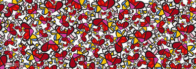 Romero Britto, 'So Much Love', 2018