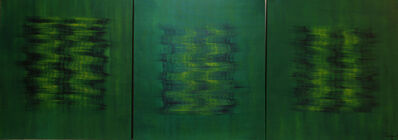 Lulwa Al-Khalifa, 'Green Haze', 2015