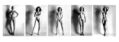 Helmut Newton, 'Big Nude Series, 1980 - All 5', 1980